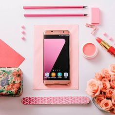 Galaxy S7 Pink. El color que le faltaba a tu día. #fashion #style #stylish #love #me #cute #photooftheday #nails #hair #beauty #beautiful #design #model #dress #shoes #heels #styles #outfit #purse #jewelry #shopping #glam #cheerfriends #bestfriends #cheer #friends #indianapolis #cheerleader #allstarcheer #cheercomp  #sale #shop #onlineshopping #dance #cheers #cheerislife #beautyproducts #hairgoals #pink #hotpink #sparkle #heart #hairspray #hairstyles #beautifulpeople #socute #lovethem…