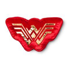 "Wonder Woman Red Pillow Buddy (17""x8"")"