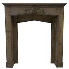 manteau de chemin e bois id es d co vrac pinterest. Black Bedroom Furniture Sets. Home Design Ideas