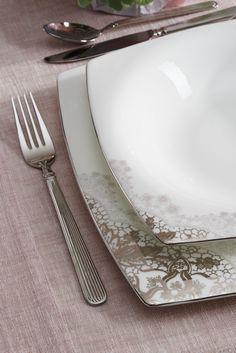 Authority Yemek Takımı / Dinnerware #bernardo #kitchen #mutfak #tabledesign #bonechina