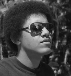 A teenaged Barack Obama