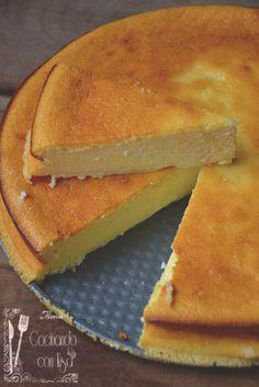 tarta de queso quarc en Cocinando con Kisa