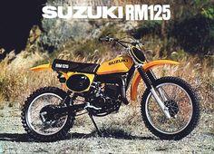 1977- Suzuki RM125B Sales Brochure