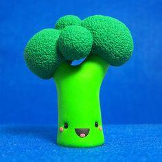 Kawaii Broccoli - een bron van vitamientjes en nu ook nog ultra-kawaii :DDD