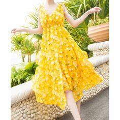 Bohemian Style V-Neck Print Design Color Block Irregular Hem Women's DressMaxi Dresses | RoseGal.com