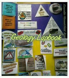 Geology Lapbook. You can find the free lapbook at www.yeeshallknow.com