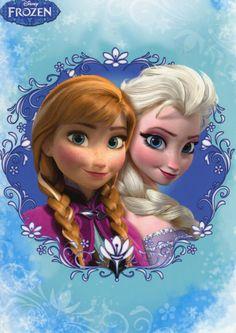 """Анна и Эльза. """"Холодное сердце"""""""