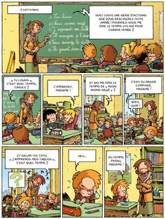 Fun French Language Learning -- comic strips