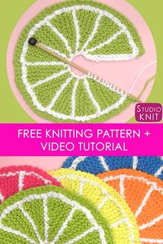 Knitted Dishcloth Patterns Free, Knitted Washcloths, Knit Dishcloth, Knitting Patterns Free, Free Knitting, Stitch Patterns, Free Pattern, Crochet Patterns, Knitting Videos