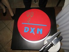 DXN cake - DXN torta #dxn #party #xmas #slovakia #celebration #bratislava #gandoerma #koncal #coffee #kavicka #kava #reishi