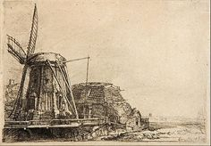 The Windmill, etching