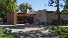 Hiebert Library exterior summer  Fresno Pacific University Mennonite Library and Archives
