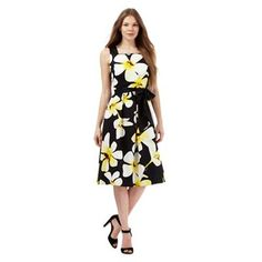 The Collection Multi-coloured floral print prom dress | Debenhams