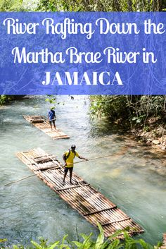 River rafting down the Martha Brae River in Ocho Rios, Jamaica is an activity you have to try when you're there! It's such a relaxing activity.