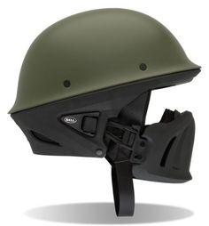 Green Bell Rogue Motorcycle Helmet