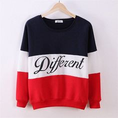 Be Different women's casual sweatshirt
