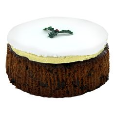 Gold Crown Iced Christmas Cake - 24oz (681g)