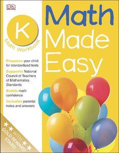 #Math Made Easy: #Kindergarten Workbook (Math Made Easy)