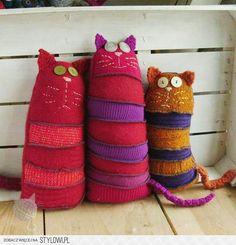 Stuffed socks or sweaters