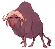 BAUER POWER!: Water Buffalo: The Legend of Tembo Character Design