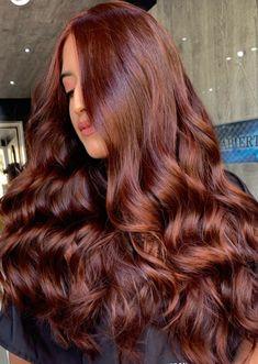 Hair Color Auburn, Auburn Hair, Hair Color And Cut, Grunge Hair, Dream Hair, Brunette Hair, Gorgeous Hair, Hair Looks, Pretty Hairstyles