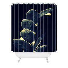 Krista Glavich Zamioculcas Shower Curtain | DENY Designs Home Accessories
