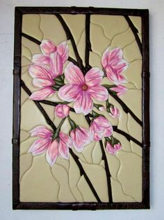 Wall Decor Set, Intarsia Woodworking, Clay Flowers, Picture Wall, Handicraft, Quilling, New Art, Wall Murals, Flower Art