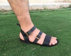 Sandalias hechas a mano los hombres Flip Flops por SpartaSandals