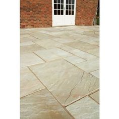 Natural Sandstone Patio Pack Small - Autumn Buff - 7.18sqm from Homebase.co.uk