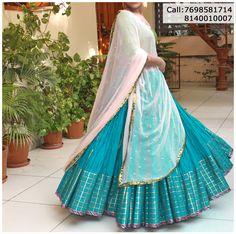 Refresh your wardrobe with vibrant Navratri wear by Lehenga Saree Design, Bollywood Lehenga, Lehenga Designs, Indian Wedding Gowns, Indian Dresses, Indian Clothes, Indian Weddings, Lehnga Dress, Lehenga Blouse