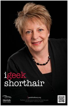 """i geek short hair"""
