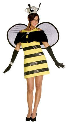 Queen Bee Adult Womens Size 6-10 Halloween Costume #CompleteCostume