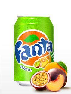 Fanta Exotic   Maracuyá, Melocotón y Naranja  Fanta de frambuesa, maracuya y naranja. Disfruta de esta increíble y refrescante combinación de frutas!  http://japonshop.com/producto/fanta_exotic_maracuya_melocoton_y_naranja