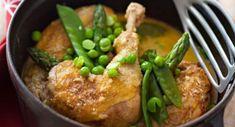 Fricassée de poulet au comtéVoir la recette Fricassée de poulet au comté >>