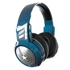 rogeriodemetrio.com: Captain America Bluetooth Headphones