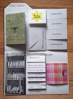 Dall'esperienza in classe con gli alunni è nato il lapbook dedicato ad Anne Frank. Per visualizzare la playlist con i videotutorial per realizzare il lapbook step-by-step clicca…