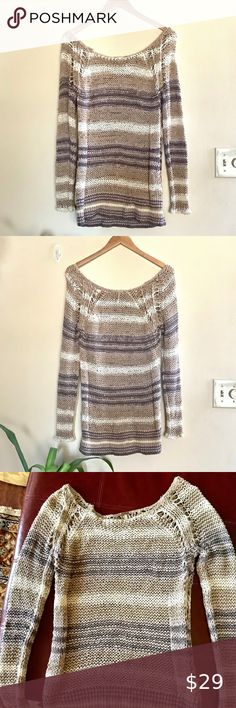 Damen Top Shirt Bluse Pullover Stricktop 36 38 40 S M L ONE SIZE