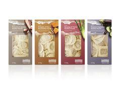 Waitrose fresh pasta packaging, designed by Turner Duckworth