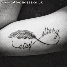 1f54d23aa Strong Women In Tattoo Pictures to Pin on Pinterest Feather Tattoos, Tatoos,  Feather Quotes