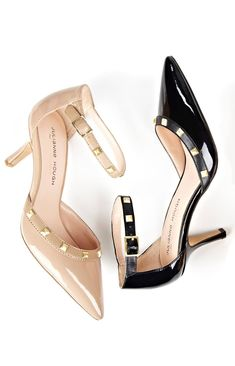 Studded low heels - cute for work