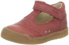 ASTONISH  Athos 277310-10_Rouge (4) – Zapatos de cuero para bebé, color rojo, talla 20