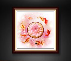 Cheap printed silk dress fabric, Buy Quality art canvas print directly from China printed duck cloth fabric Suppliers: Koi Fish Chinese Calligraphy Oil Painting Canvas Print Modern Mural Art for Home Living Office Wall Decor