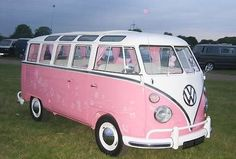 LOVE this!  Reminds me of the VW bus my family had when I was a kid....