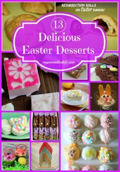13 Delicious Easter Desserts