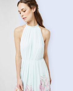 Hanging Gardens maxi dress - Mint   Dresses   Ted Baker ROW