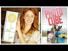 DIY Tutorial Video: Upcycle CD Cases Into Photo Cube Display | Gurl.com