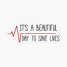 """""""It's a Beautiful Day to Save Lives Grey's Quote"""" iPhone Case & Cover by Sylvdesigns"""