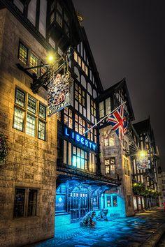 Liberty's Dept Store, London