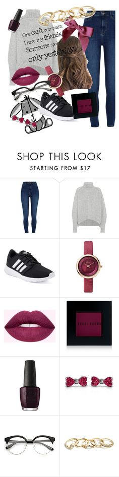 """""""Eeyore"""" by lola-evergreen ❤ liked on Polyvore featuring Isabel Marant, adidas, Bobbi Brown Cosmetics, OPI and GUESS"""