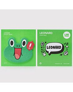 K2POP - LINE BRAND STORE OFFICIAL GOODS : LEONARD STICKY NOTE I